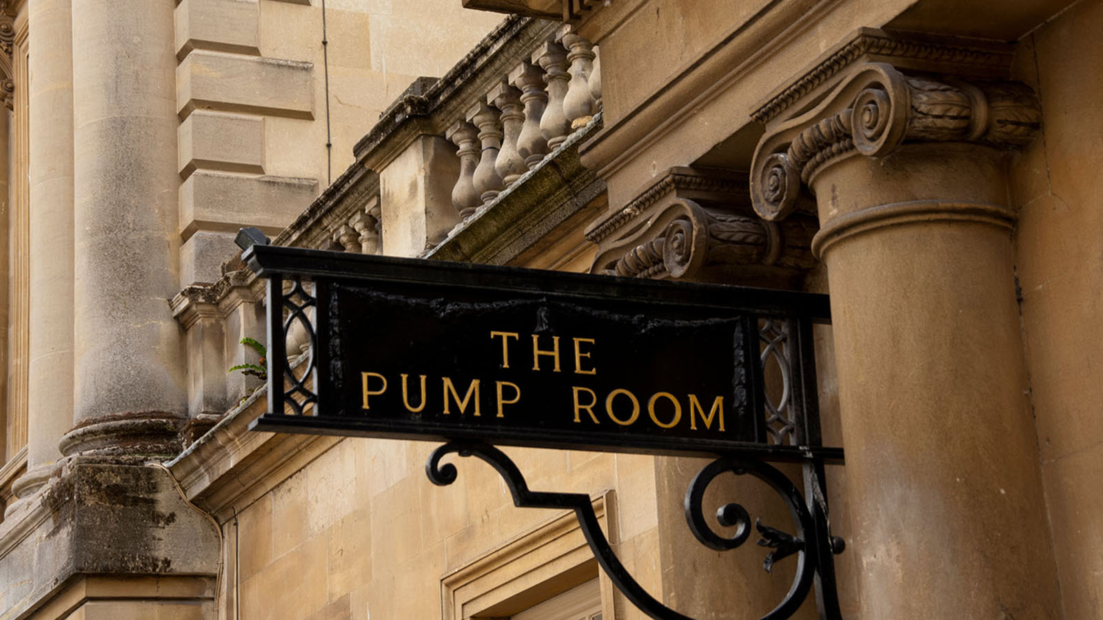Pump Room sign Bath