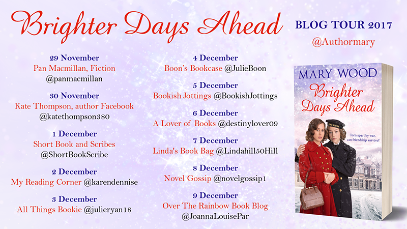 Brighter Days Ahead by Mary Wood blog book tour 2017 digital flyer