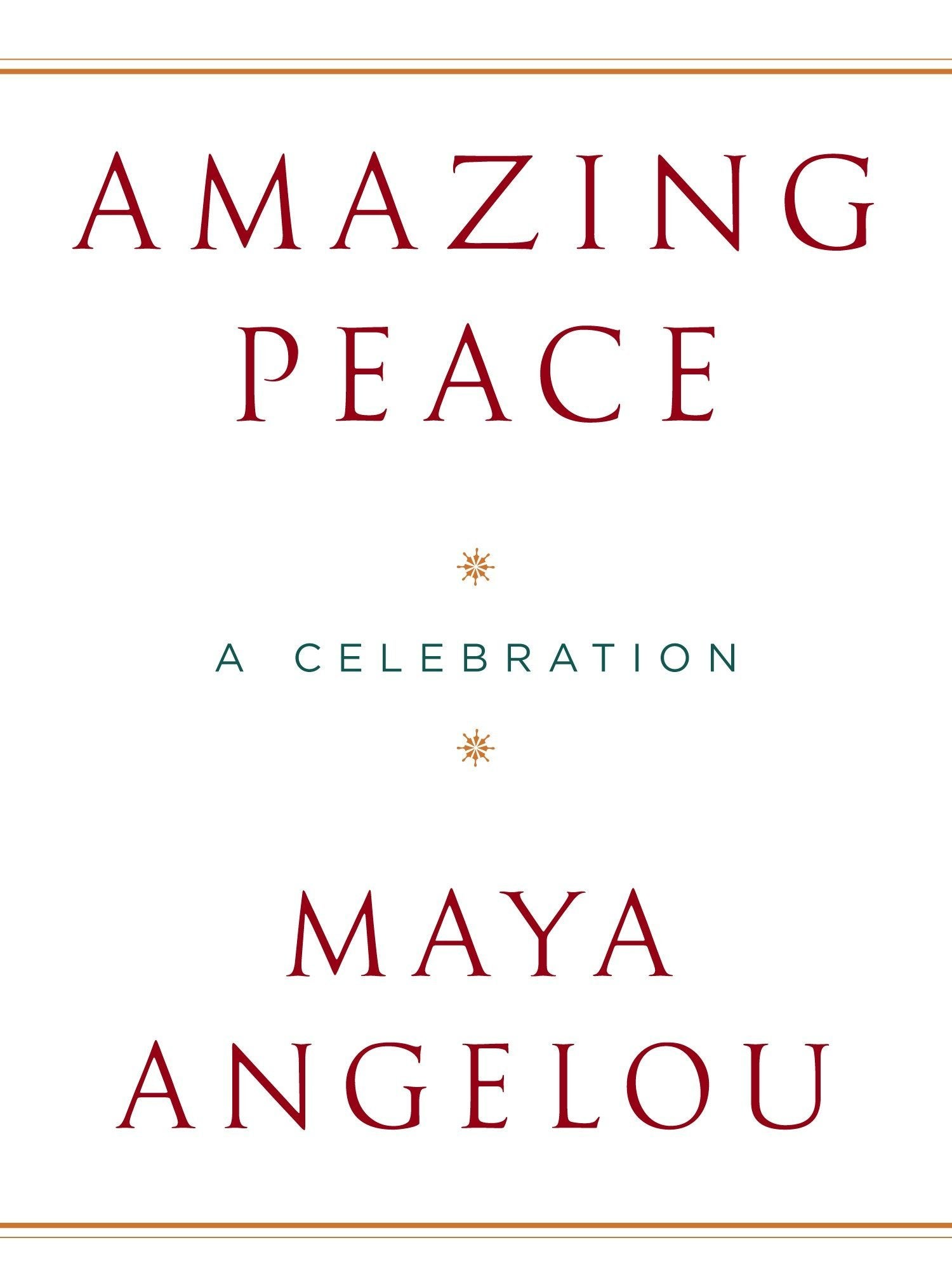 Book cover for Amazing Peace