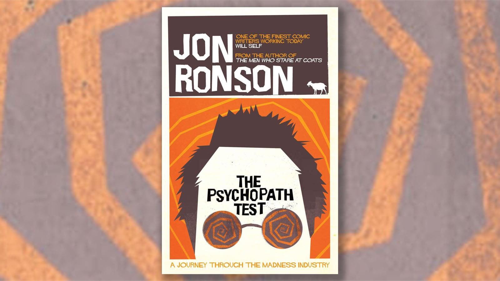 Jon Ronson The Psychopath Test Book Cover