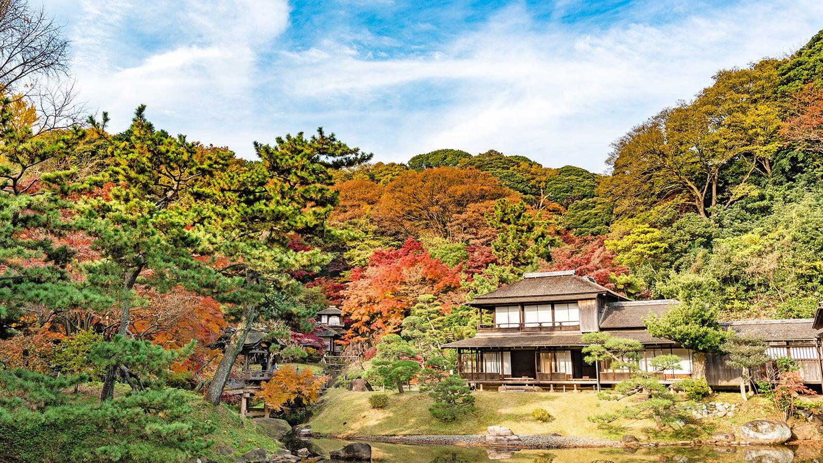 Sankei-en Tokyo