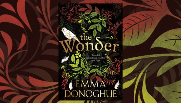 Emma Donoghue The Wonder book cover