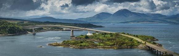 Eilean Bàn Kyleakin Lighthouse
