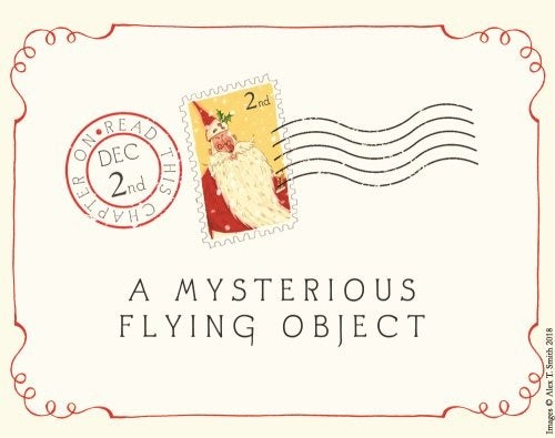 An envelope reading A Mysterious Flying Object