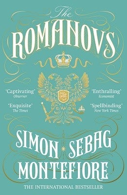 Book cover for The Romanovs