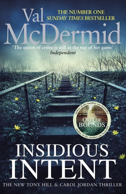 Book cover for Insidious Intent