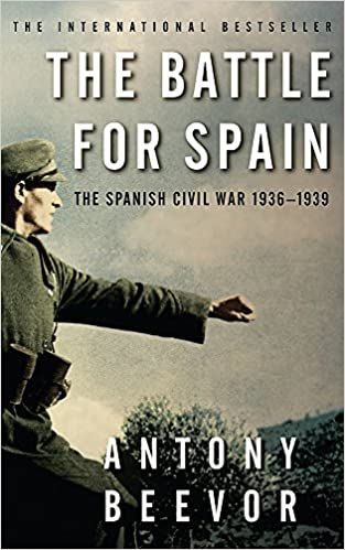Book cover for The Battle For Spain