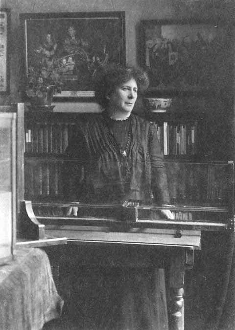 Black and white photograph of Hertha Ayrton