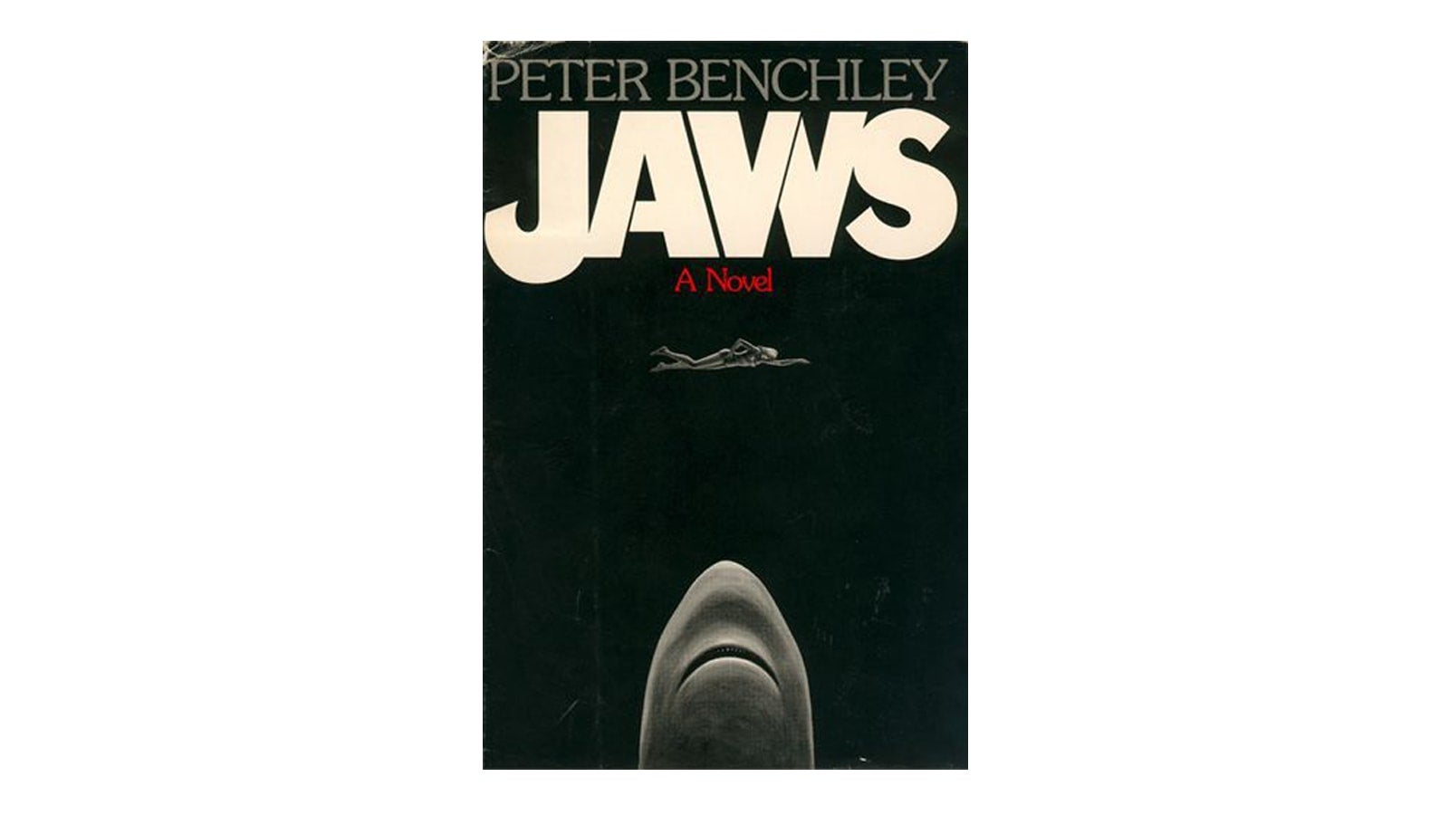 1974 Jaws original cover
