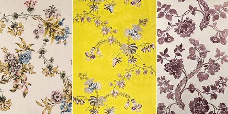 Silk Woven designs in the Victoria and Albert Museum
