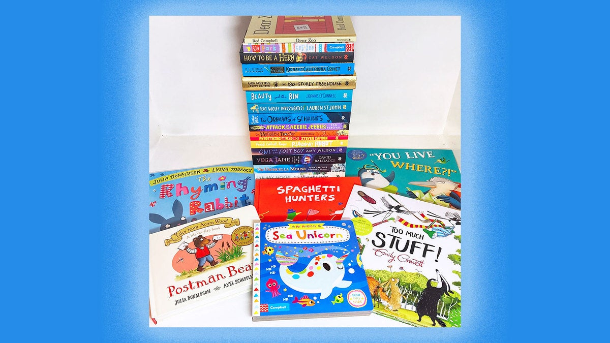 A selection of books from Macmillan Children's Books.