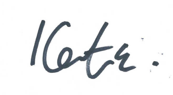 Kate Mosse Signature