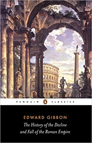 Book cover for The History of the Decline and Fall of the Roman Empire
