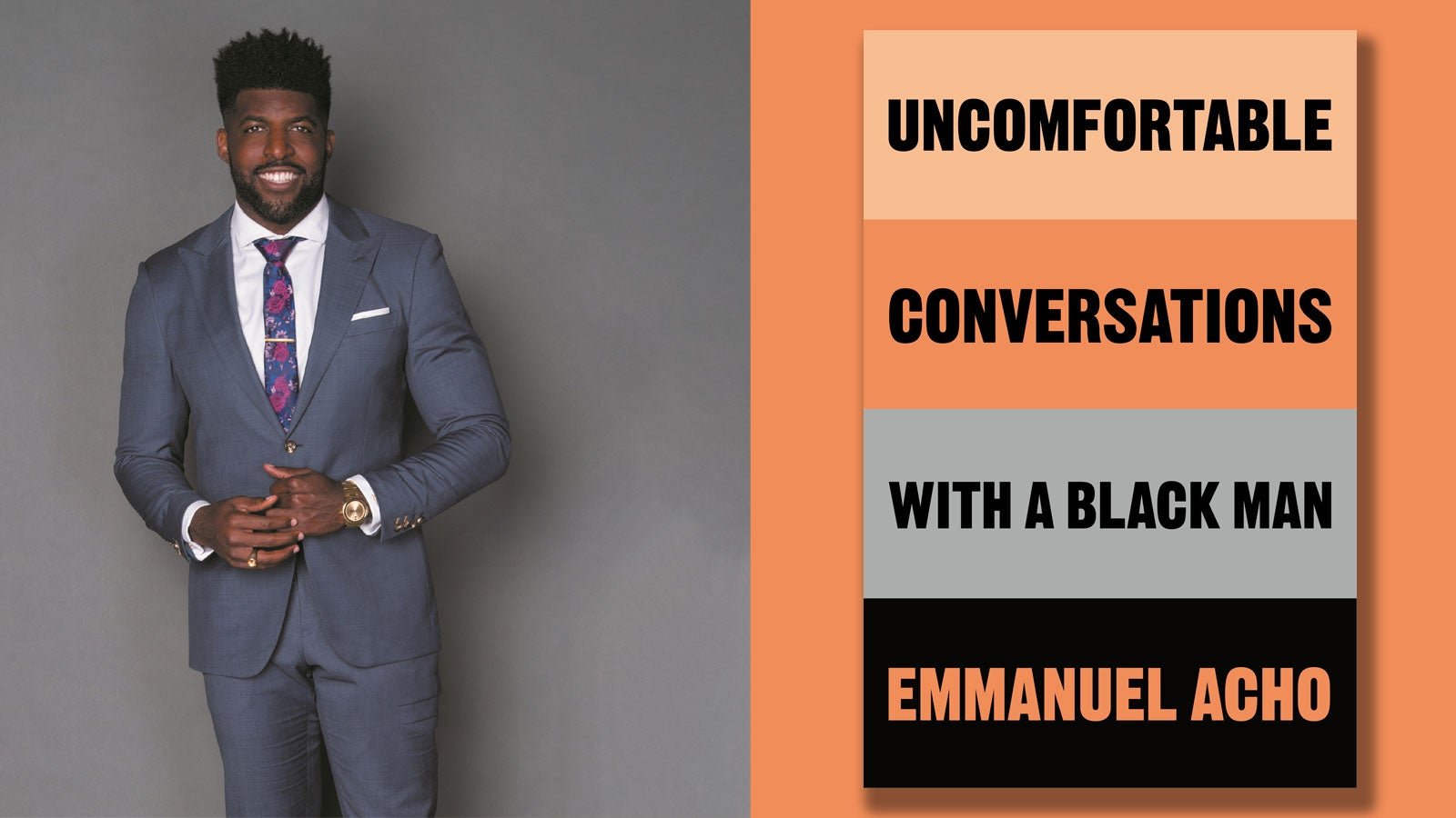 Emmanuel Acho and the Uncomfortable Conversations with a Black Man book cover