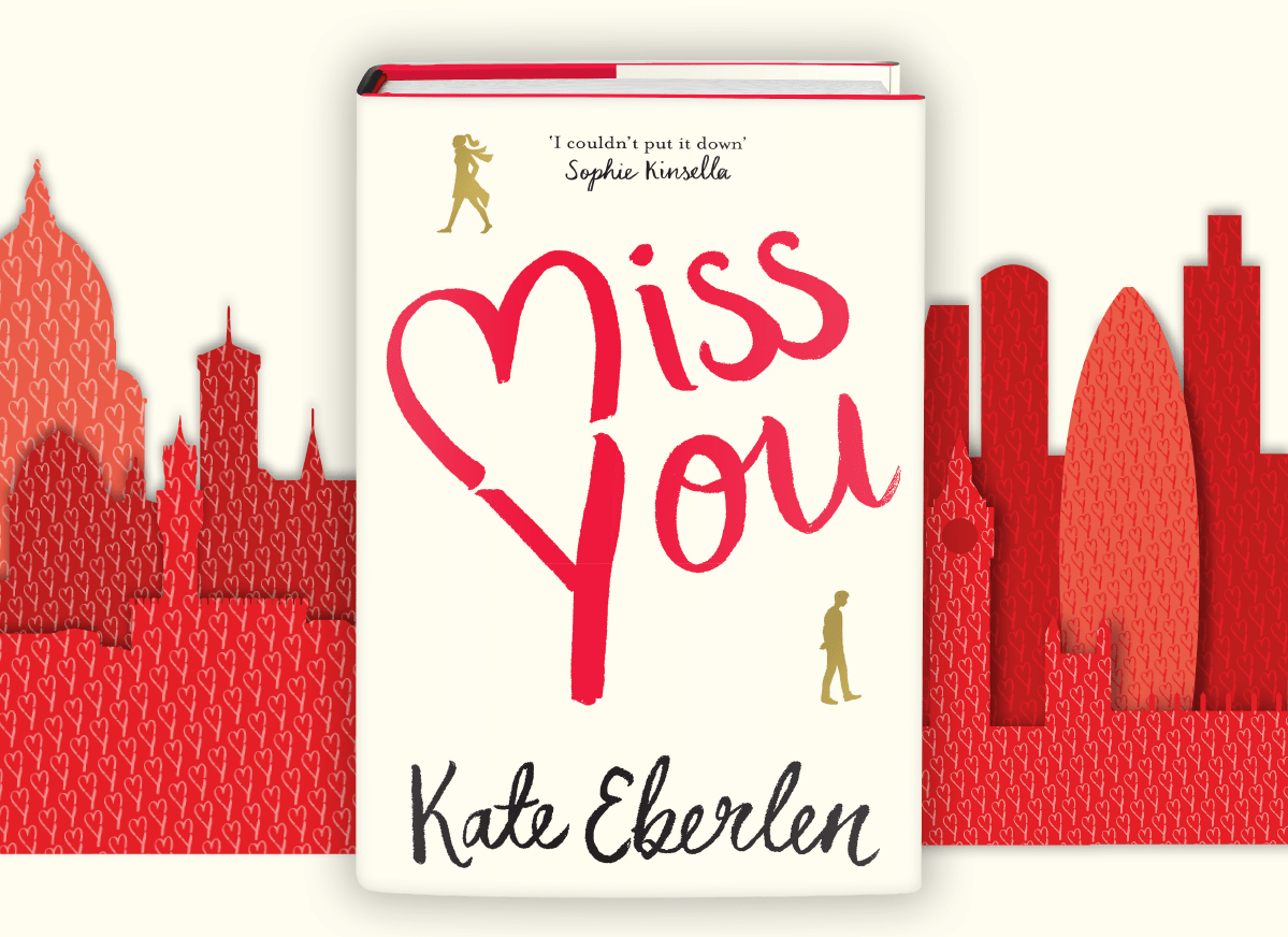 Miss You Kate Eberlen book cover