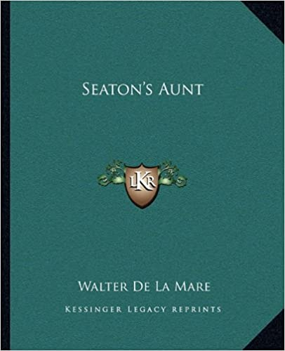 Book cover for Seaton's Aunt