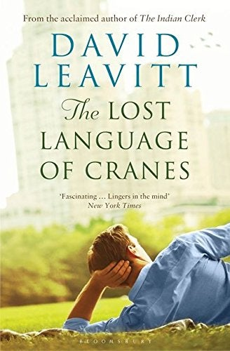Book cover for The Lost Language of Cranes