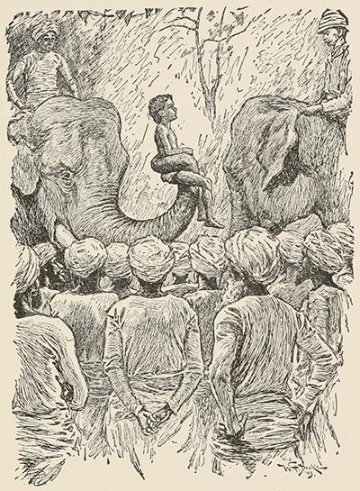 Lockwood Kipling India illustration