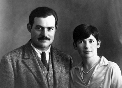 Ernest and Pauline (Fife) Hemingway, Paris, c. 1927