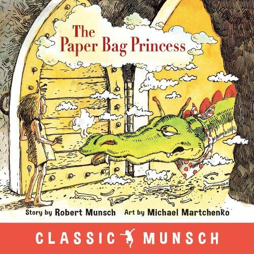 Book cover for The Paper Bag Princess