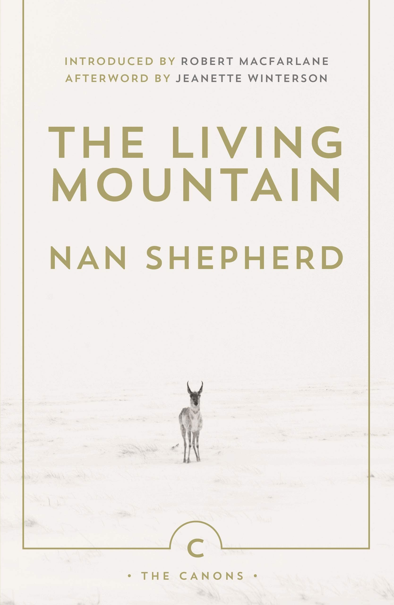 Book cover for The Living Mountain