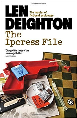 Book cover for The Ipcress File