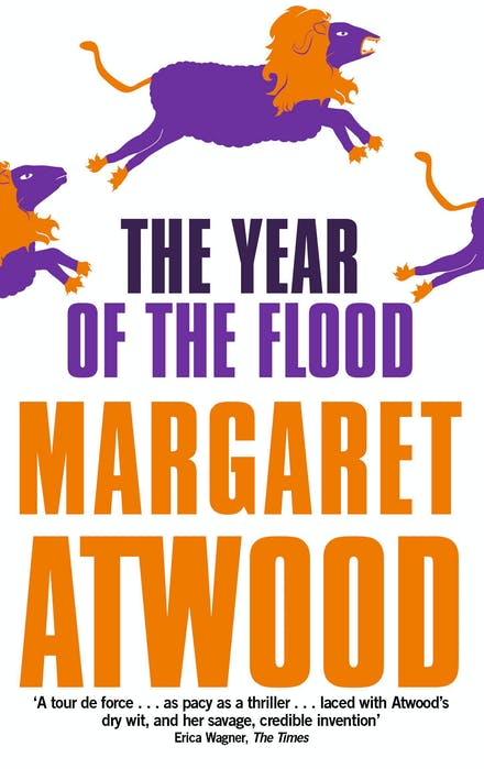 Book cover for The Year Of The Flood