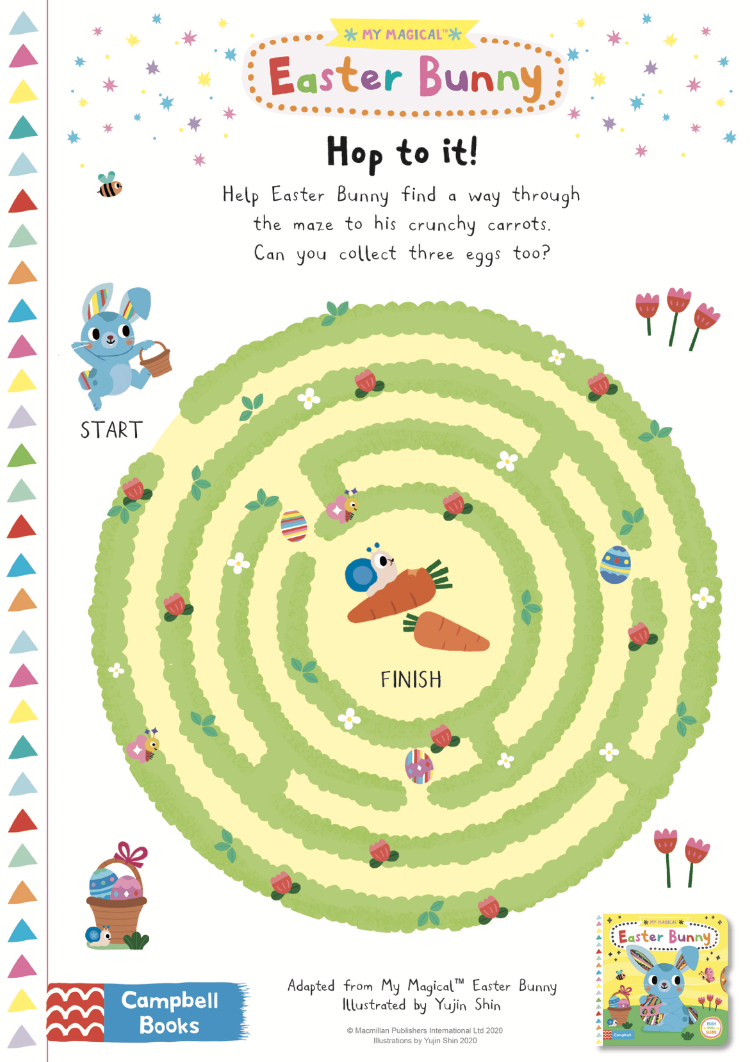 Activity sheet - Easter Maze - My Magical Easter Bunny