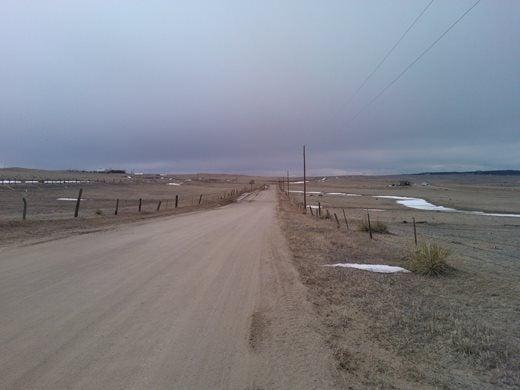 A road through the plains