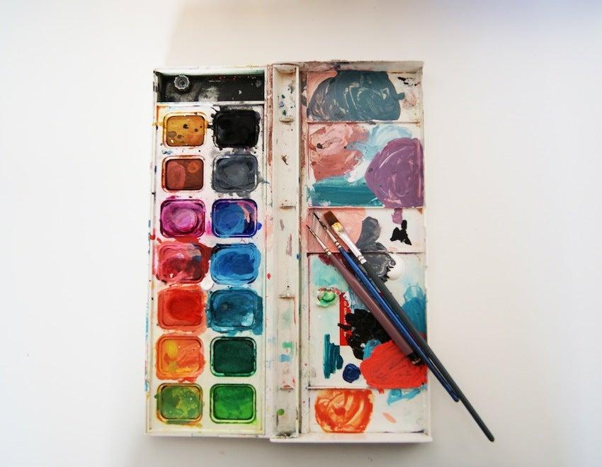 artist's paintbox