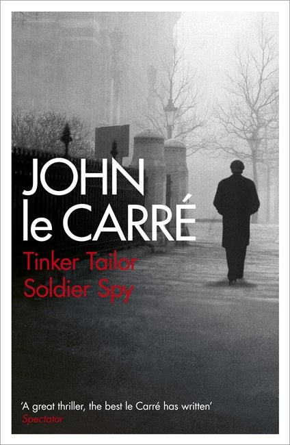 Book cover for Tinker Tailor Soldier Spy