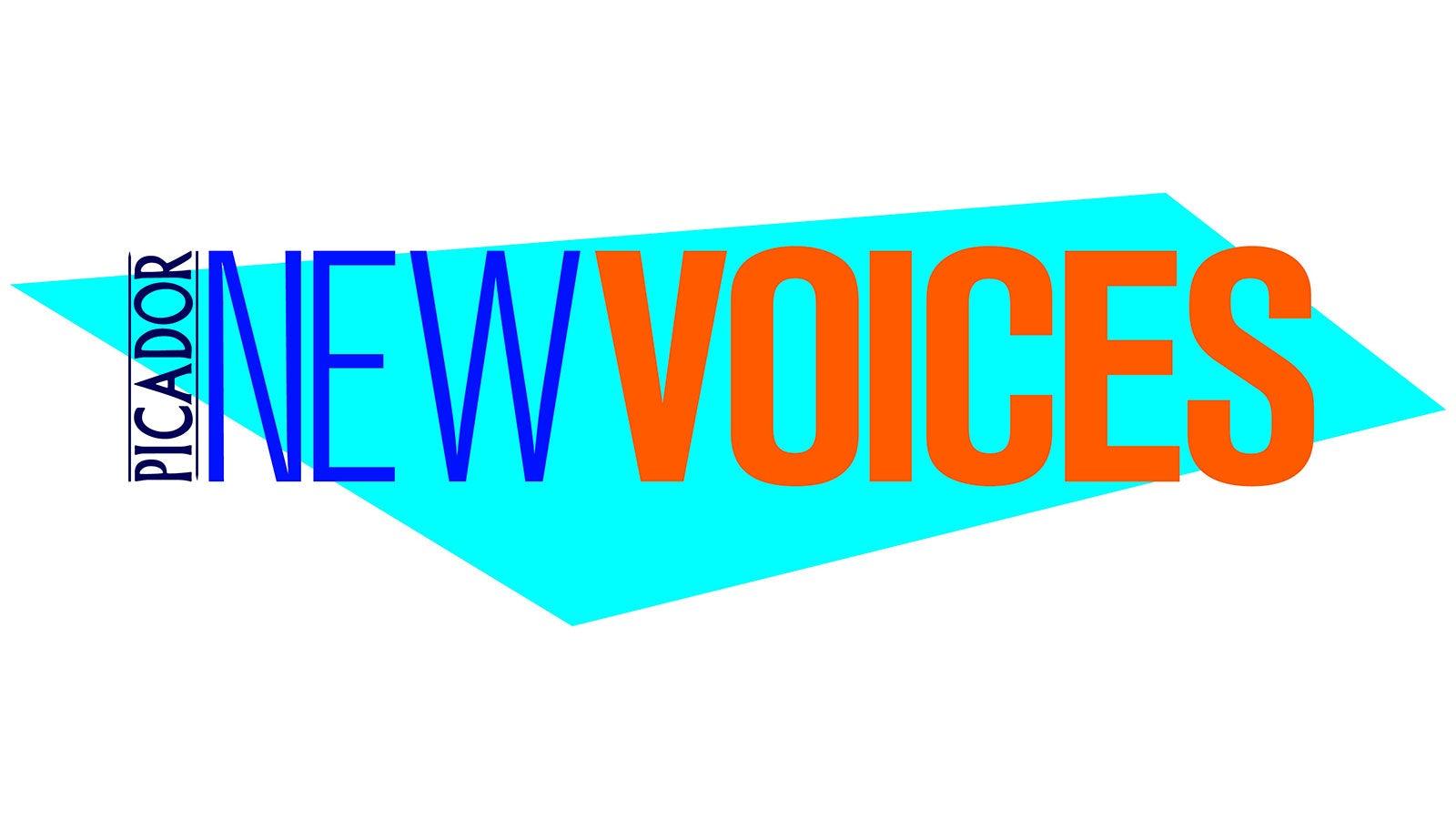 Picador New Voices logo
