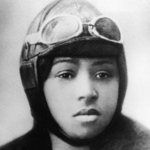 Black and white photograph of Bessie Coleman