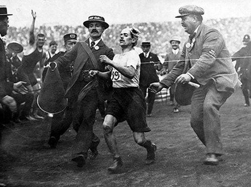 Dorando Pietri Olympics 1908