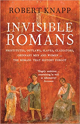 Book cover for Invisible Romans