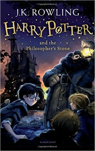 Book cover for Harry Potter