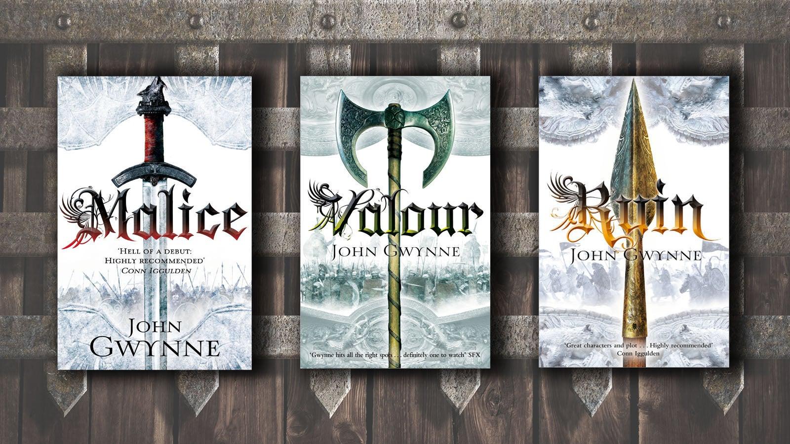 John Gwynne - Malice / Valour / Ruin