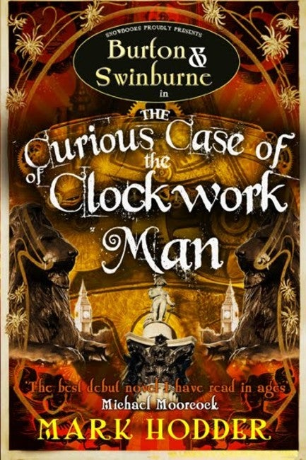 Book cover for The Curious Case of the Clockwork Man