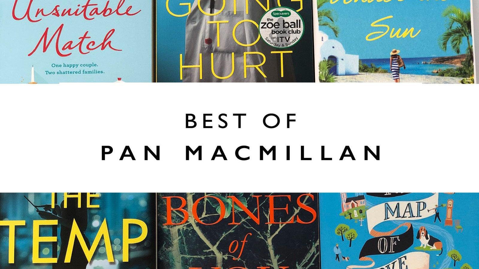 best of Pan Macmillan email header