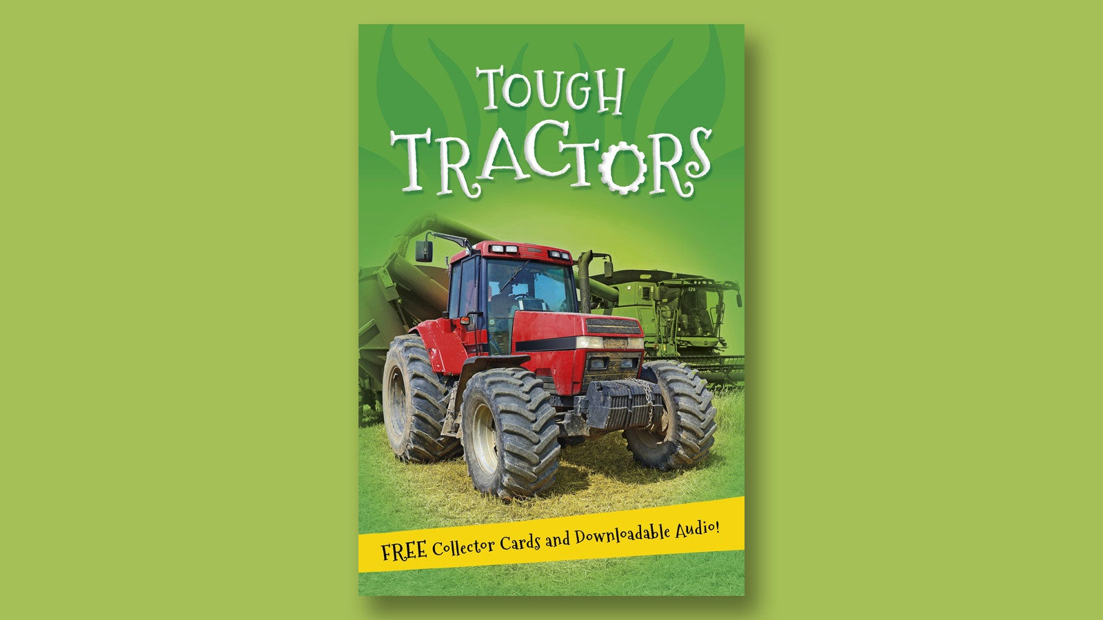 Tough Tractors book cover