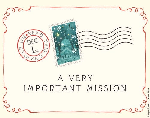 Envelope that reads A Very Important Mission
