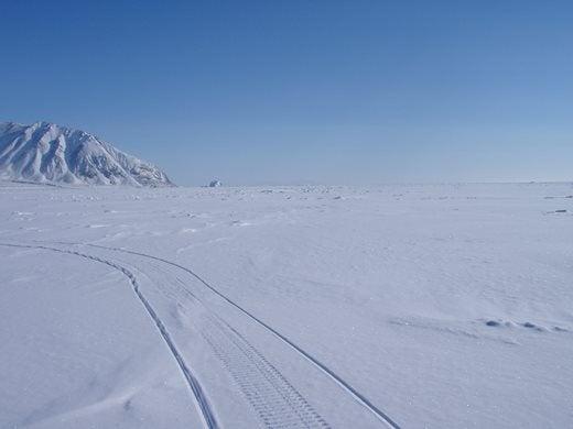 Ellesemere Island Arctic snow