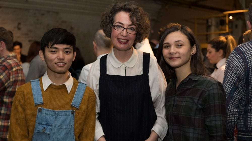 Mukahang Limbu, Kate Clanchy and Sophie Dunsby at the Picador Showcase 2018