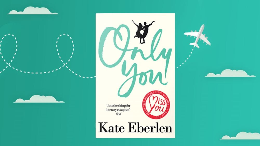 Kate Eberlen Only You Book Jacket on Green background
