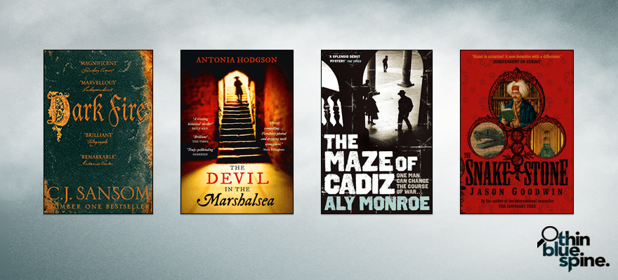 Dark Fire, The Devil in the Marshalsea, The Maze of Cadiz, The Snake Stone books