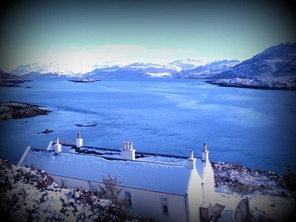 View down Loch Alsh, Eilean Bàn