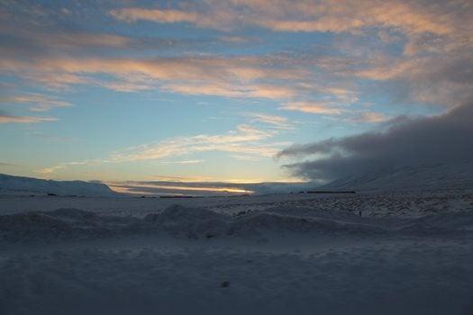 Looking inland from Skagafjörður.