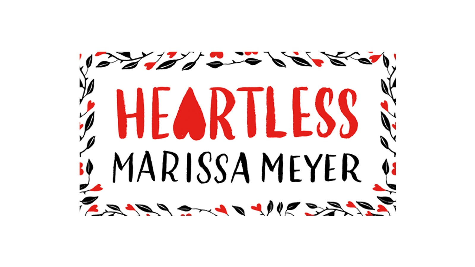 Section of Heartless book jacket