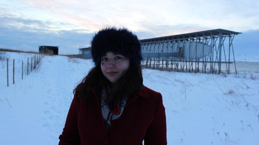 Kiran Millwood Hargrave in Vardo, Norway