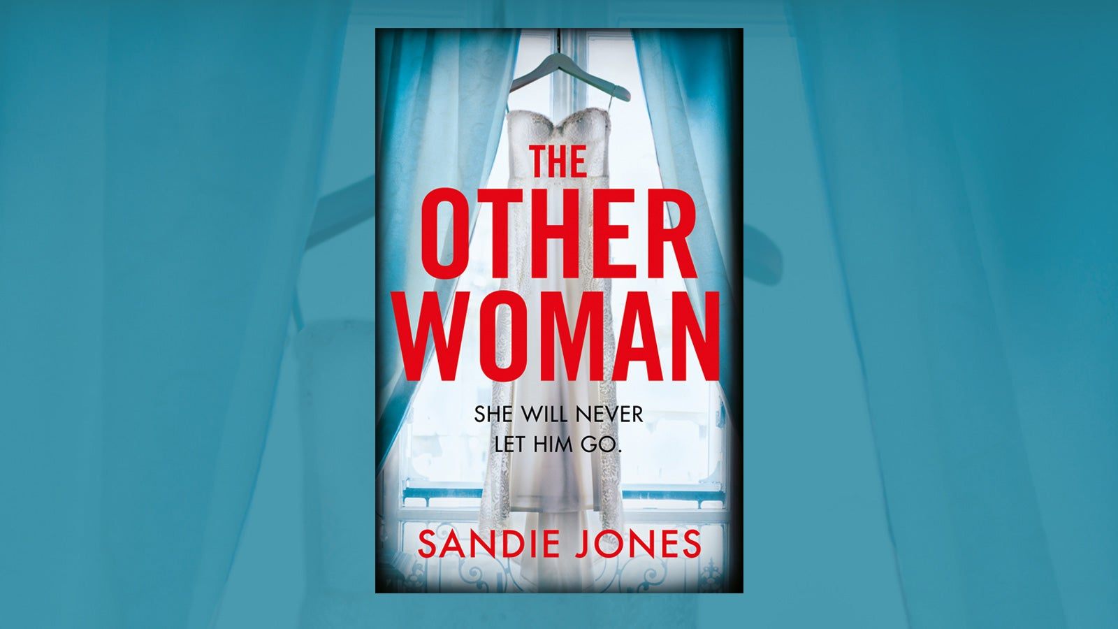 Book cover of The Other Woman on a blue background